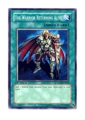 The Warrior Returning Alive - 5DS2-EN025 - Common - 1st Edition