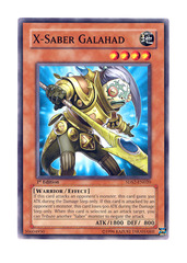 X-Saber Galahad - 5DS2-EN020 - Common - 1st Edition