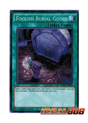 Foolish Burial Goods - RATE-EN065 - Secret Rare - 1st Edition