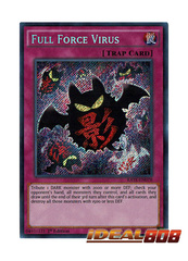 Full Force Virus - RATE-EN078 - Secret Rare - 1st Edition