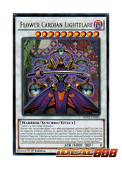 Flower Cardian Lightflare - RATE-EN045 - Rare - 1st Edition