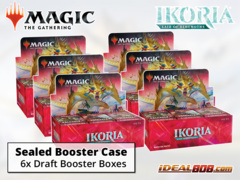 Ikoria: Lair of Behemoths Draft Booster  Case [6 Boxes] * PRE-ORDER Ships May.15