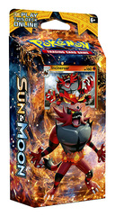SM Sun & Moon (SM01) Pokemon Theme Deck - Roaring Heat (Incineroar)