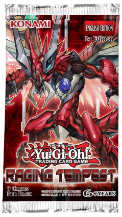 Raging Tempest - Booster Pack (1st Edition)