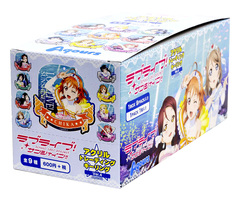 Love Live! Acrylic Trading Metal Keychain Charm Ver.4 Aqours 02 (9-count Box) [#699529]
