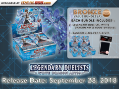 Legendary Duelists: White Dragon Abyss Bundle (A) - Get 2x Booster Boxes + Bonus Item * PRE-ORDER Ships Sep.28, 2018