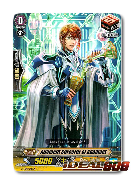Augment Sorcerer of Adamant - G-TD11/015EN - TD (common ver.)