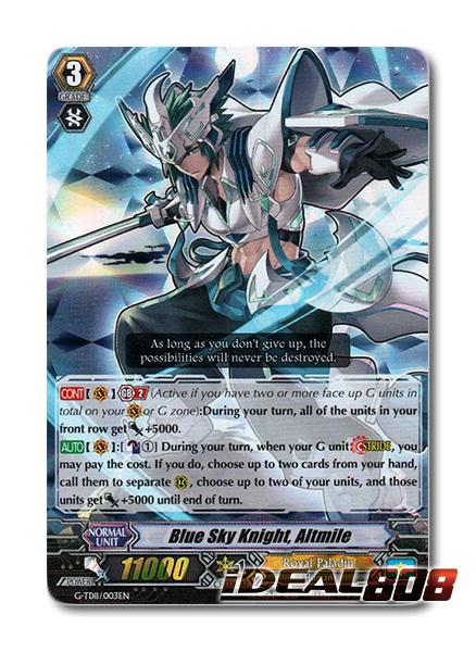 Blue Sky Knight, Altmile - G-TD11/003EN - RRR (Foil ver.)