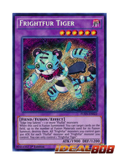 Frightfur Tiger - FUEN-EN022 - Secret Rare - 1st Edition