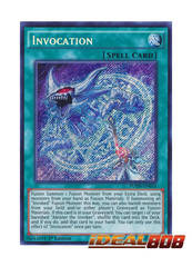 Invocation - FUEN-EN035 - Secret Rare - 1st Edition