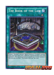 The Book of the Law - FUEN-EN036 - Secret Rare - 1st Edition