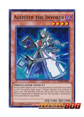 Aleister the Invoker - FUEN-EN026 - Super Rare - 1st Edition
