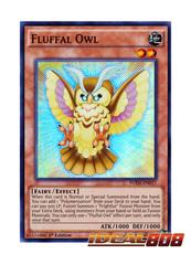 Fluffal Owl - FUEN-EN017 - Super Rare - 1st Edition