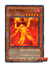 King Pyron - TAEV-EN026 - Common - 1st Edition