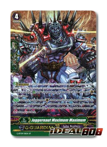 Juggernaut Maximum Maximum - G-BT09/S11EN - SP