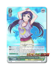 Nozomi in Training Wear [LL/EN-W01-057R RRR (FOIL)] English