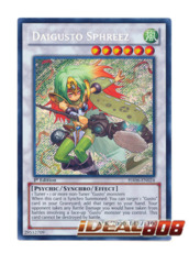 Daigusto Sphreez - HA06-EN024 - Secret Rare - Unlimited Edition