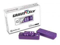 Ultra Pro D6 - 2 Dice Set Gravity Dice - Royal (#84873)