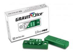 Ultra Pro D6 - 2 Dice Set Gravity Dice - Emerald (#84875)