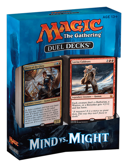 Duel Decks: Mind vs. Might (MVM)
