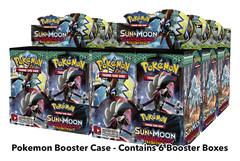 SM Sun & Moon - Guardians Rising (SM02) Pokemon Booster  Case (6 Boxes)