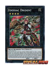 Zoodiac Drident - RATE-EN053 - Secret Rare - Unlimited Edition