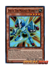 Delta The Magnet Warrior - RATE-EN097 - Super Rare - Unlimited Edition