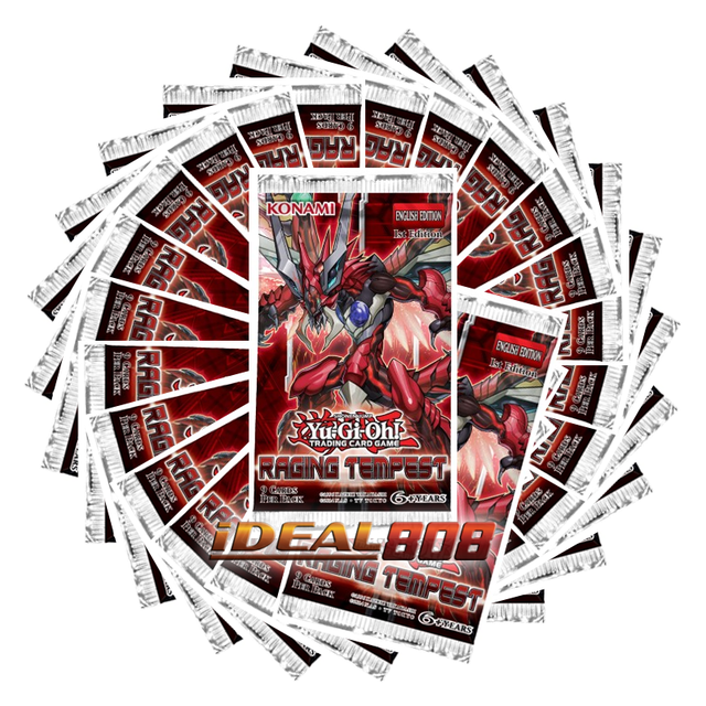 Raging Tempest [RATE] 24-Booster Pack Lot Bundle (Unlimited)