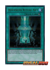Advanced Ritual Art - DUSA-EN063 - Ultra Rare - 1st Edition