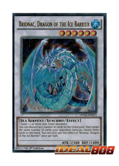 Brionac, Dragon of the Ice Barrier - DUSA-EN073 - Ultra Rare - 1st Edition