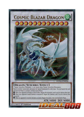 Cosmic Blazar Dragon - DUSA-EN034 - Ultra Rare - 1st Edition