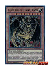 Hamon, Lord of Striking Thunder - DUSA-EN097 - Ultra Rare - 1st Edition