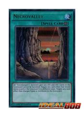 Necrovalley - DUSA-EN050 - Ultra Rare - 1st Edition
