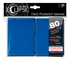 Ultra Pro Matte Eclipse Large Sleeves 80ct - Blue (#85111)