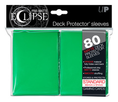 Ultra Pro Matte Eclipse Large Sleeves 80ct - Green (#85251)