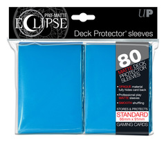 Ultra Pro Matte Eclipse Large Sleeves 80ct - Light Blue (#85252)