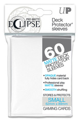 Ultra Pro Matte Eclipse Small Sleeves 60ct - White [#85268]