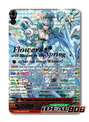 Flower Princess of Beautiful Winter, Inverno - G-CHB01/003EN - SGR (Gold Hot Stamp)
