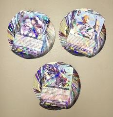 Cardfight Vanguard Random Rare Card Lot - 50 Rares (R) - All Foils No Duplicate Cards