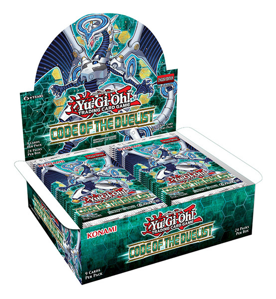 Code of the Duelist (1st Edition) Booster Box