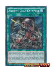 Ancient Gear Catapult - SR03-EN021 - Super Rare - 1st Edition