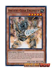 Ancient Gear Engineer - SR03-EN008 - Common - 1st Edition