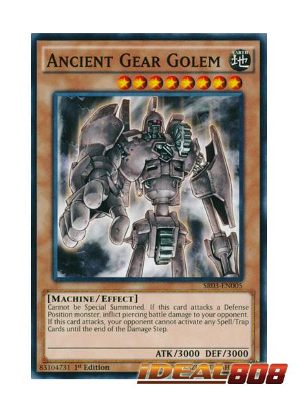 Ancient Gear Golem - SR03-EN005 - Common - 1st Edition
