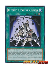 Inferno Reckless Summon - SR03-EN030 - Common - 1st Edition
