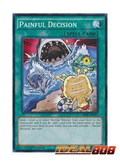 Painful Decision - SR04-EN027 - Common - 1st Edition