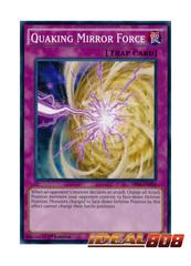 Quaking Mirror Force - SR04-EN036 - Common - 1st Edition