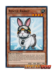 Rescue Rabbit - SR04-EN020 - Common - 1st Edition