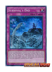Survival's End - SR04-EN030 - Super Rare - 1st Edition