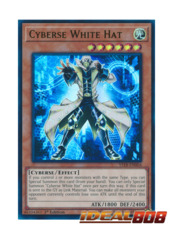Cyberse White Hat - YS18-EN004 - Ultra Rare - 1st Edition