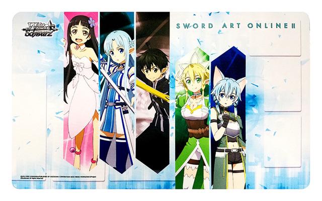 Weiss Schwarz SAO/S47 Sword Art Online II Case Promo Playmat